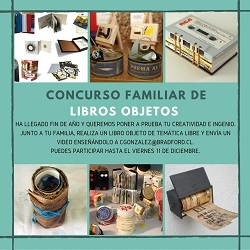 CONCURSO FAMILIAR DE LIBROS OBJETOS